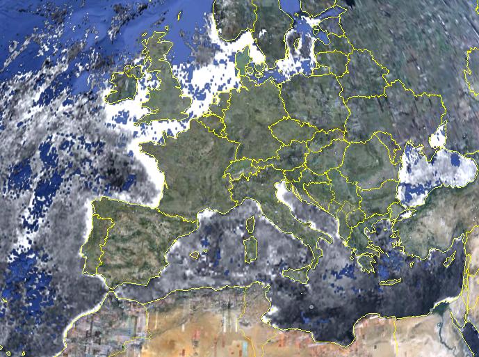 Export as Google Earth KMZ-file