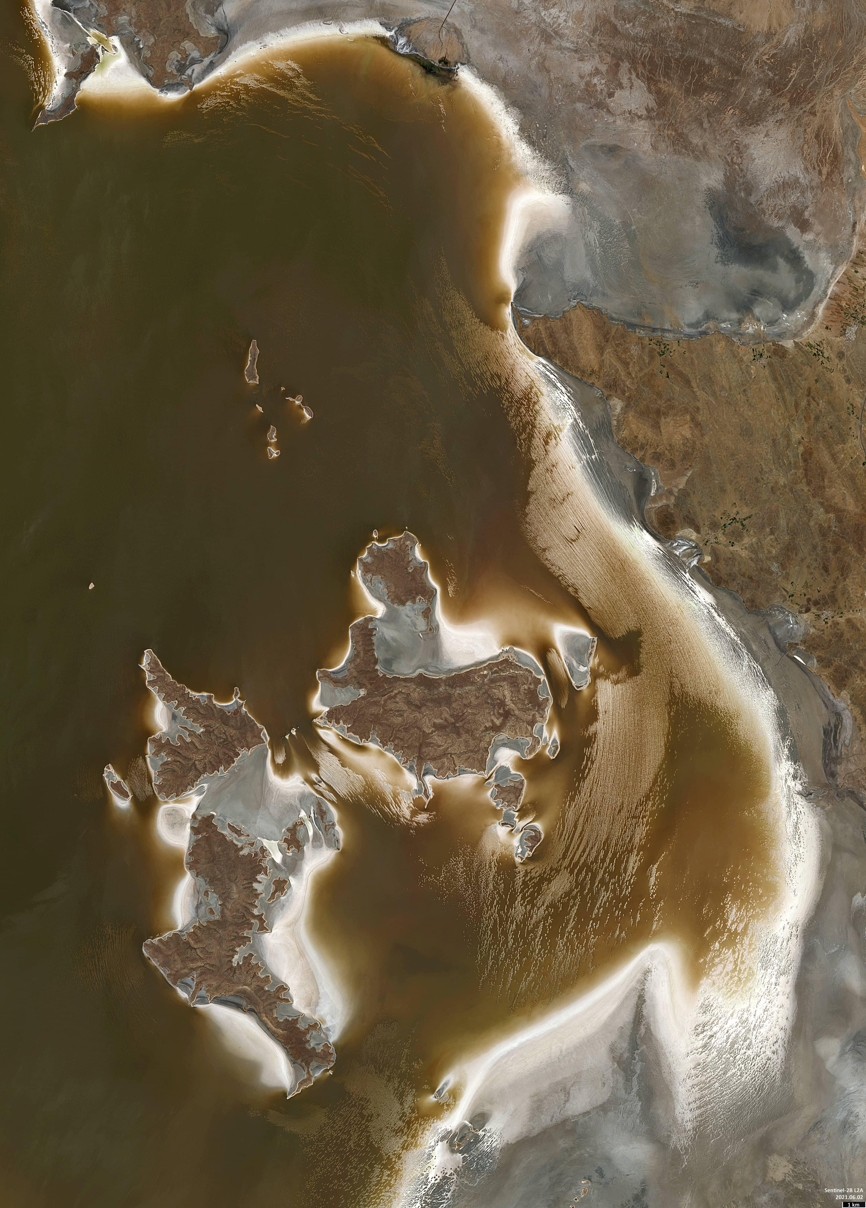 Lake Urmia Re-expansion